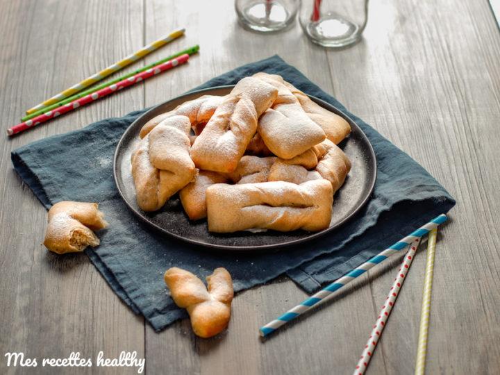 recette-bugne moelleuse-eau de rose-carnaval-mardis gras-healthy-sans beurre-sans lait-sans lactose-sain-saine-oreillette-beignet