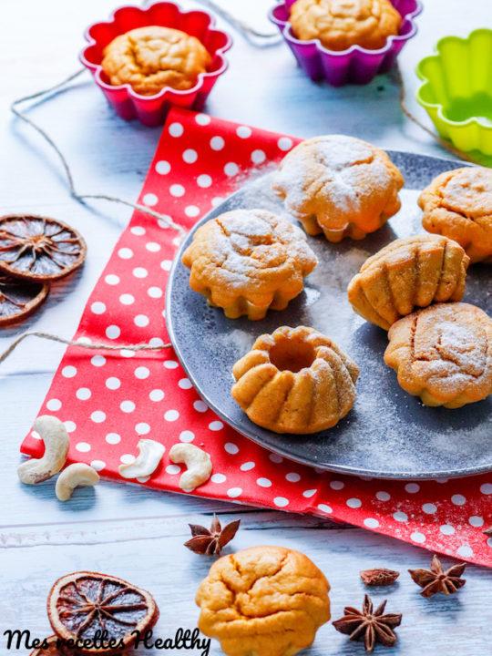 recette-muffin-courge-potiron-butternut-noix-cajou-epice-cannelle-muscade-facile-rapide-sans beurre-sans lait-sans lactose-muffin de butternut