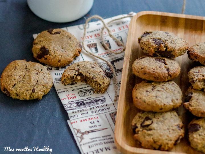 recette-healthy-sans lait-sans beurre-sans lactose-sans gluten-chocolat-noisette-son d'avoine-noisette-cookie-biscuit-biscuit chocolat