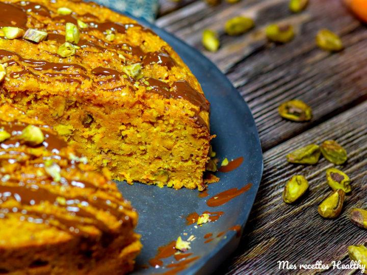 recette-carrot cake-carotte-usa-sans beurre-sans lait-helathy-leger-pistache-epice-noisette-gâteau-