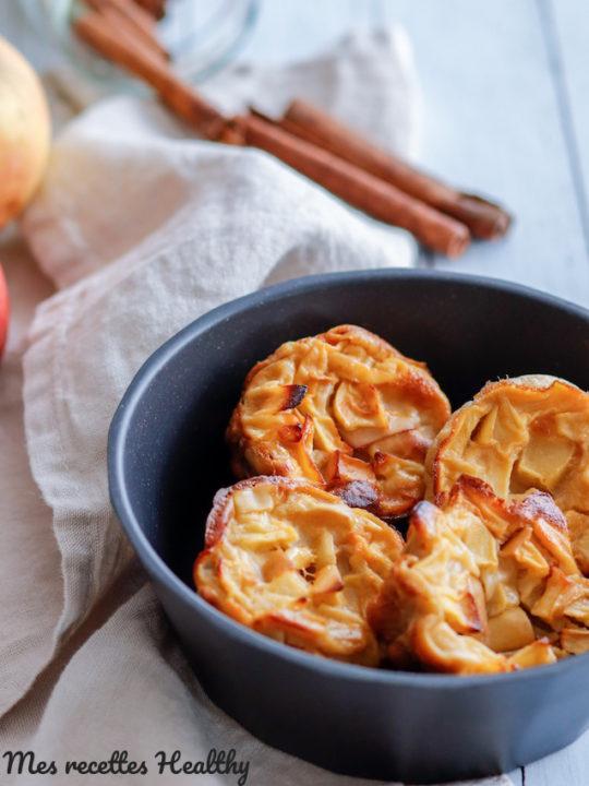 recette-flan-pomme-sans gluten-sans lait-sans lactose-healthy-pommes-fruit-saison-flan à la pomme