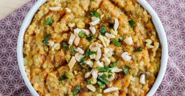 porridge salé-recette-dhal-dahl-dal-lentille corail-lait de coco-healthy-porridge-flocon d'avoine-gruau-