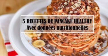 recettes de pancake healthy-pancakes-sans gluten-sans lait-facile-rapide