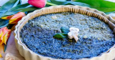 recette-tarte aux épinards-quiche aux épinards-legume-ricotta-fromage-pâte brisée-hfacile-healthy-rapide-saumon