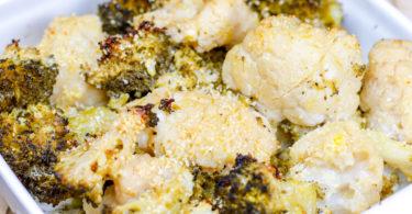 recette-healthy-legume-gratin de chou-chou fleur-brocolis-facile-rapide-vegetarien-sans lait-sans lactose-sans gluten
