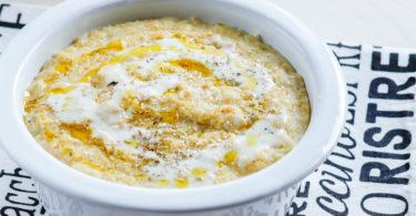 porridge de chou fleur-recette-healthy-porridge salé-porridge de chou-legume-fromage-quinoa-parmesan-chou fleur