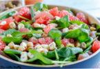 -poisson cru-pistache-cajou-recette-salade detox-pamplemousse-pomelos-poisson-thon-saumon-salade detox-legere-healthy