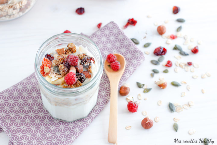 recette-muesli-granola-facile-rapide-bircher muesli-céréale-petit déjeuner-lait-fromage-fruit-amande-yaourt-