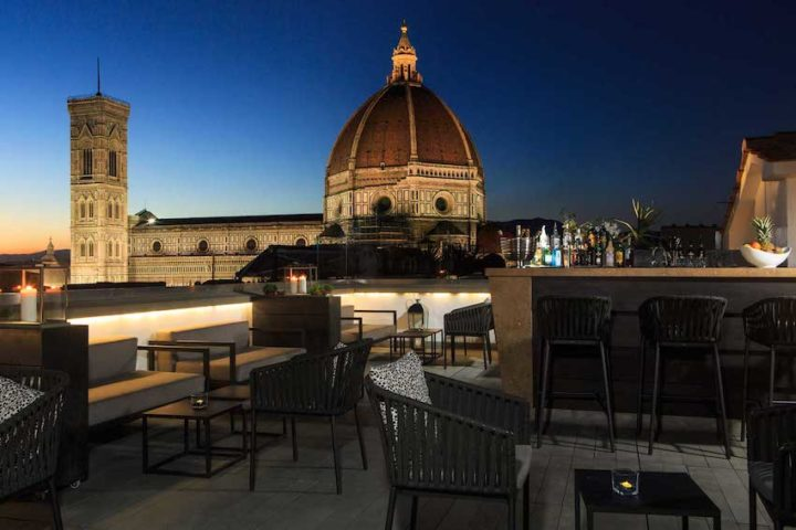 grand hotel Cavour-florence-avis-rooftop