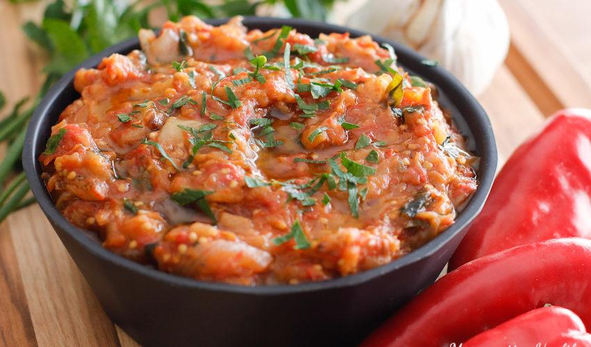recette-zaalouk-aubergine-caviar-tomate-ail-epice-sans gluten-tartine