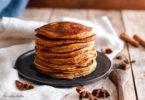 recette healthy-pancake au Butternut-courge-doubeurre-epice-cannelle-petit déjeuner-moelleux-fluffy-crepe