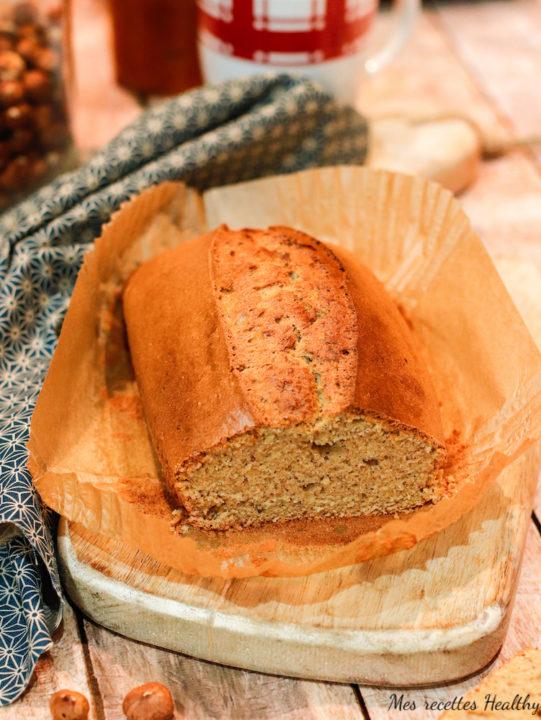 Cake moelleux aux noisettes et cannelle