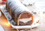 bûche glacée-recette-healthy-noel-patissière-glace-vanille-chocolat-noisette-creme-ganache-chantilly