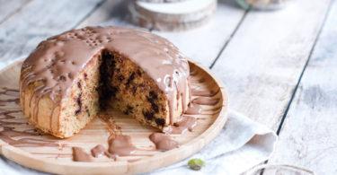 recette healthy-gateau-vapeur-pistache-chocolat-compote-sans beurre-gâteau chocolat pistache
