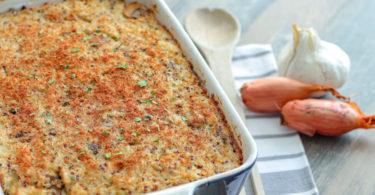 gratin poulet-quinoa-champignon-recette healthy