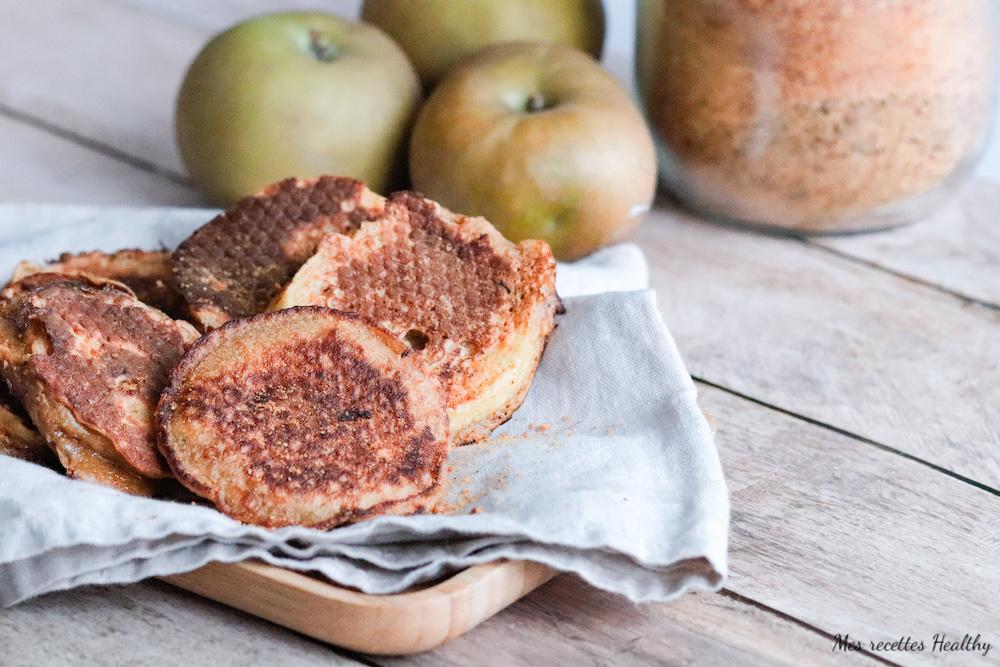 recette healthy-beignet de pomme-sans friture-sans huile