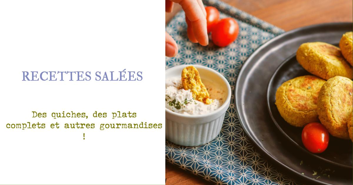 recette Healthy-recette salée