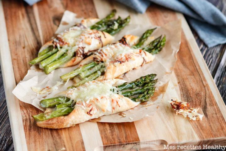 recette Healthy-asperge verte-bacon-aperitif-miel-beurre