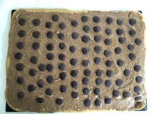 Brioche roulée au praliné et chocolat maison