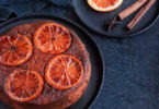 gateau renverse orange sanguine-ricotta-amande-recette healthy