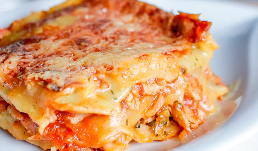 recette healthy-lasagne poulet-légume-plat complet