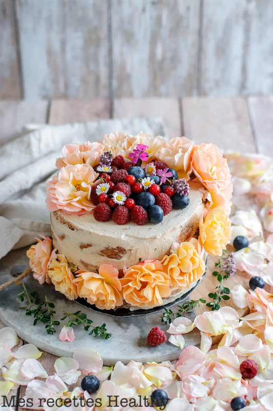 recette healthy-layer cake-genoise moelleuse-gateau d'anniversaire