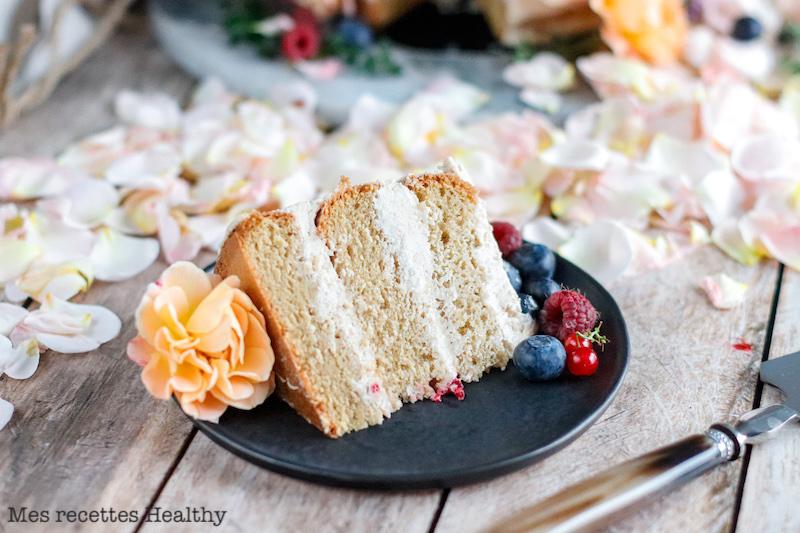 recette healthy-layer cake-genoise moelleuse-gateau anniversaire