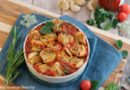 recette healthy-conchiglioni-lumaconi-herbe-origan-anchois-tomate-parmesan-fromage