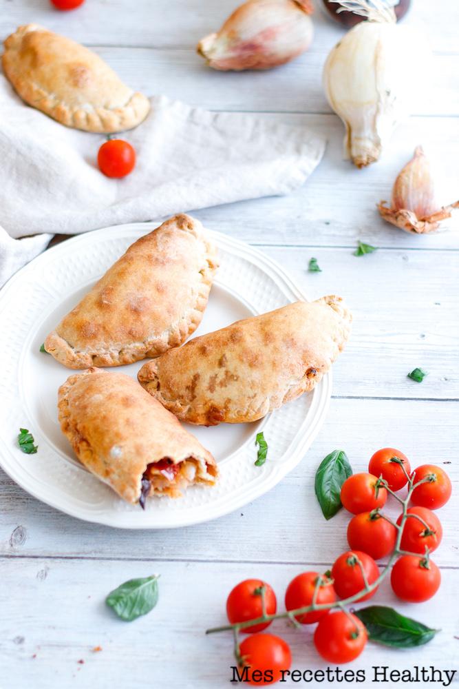 Chausson de tomate et mozzarella