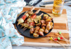 recette healthy-marinade-grillade-barbecue-brochette-legume grille