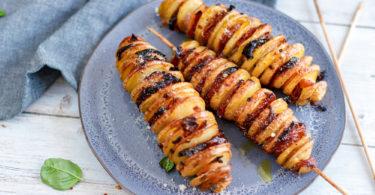 recette Healthy-pomme de terre-patate-bacon-parmesan-tomate confite-tomate sechee
