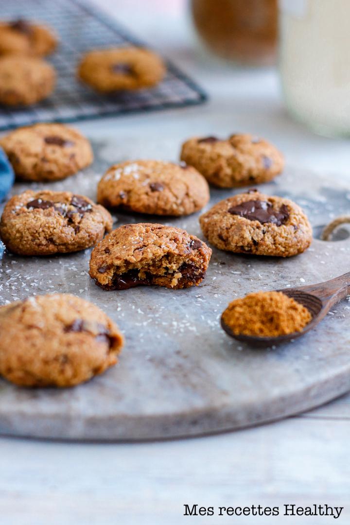 omnicuiseur-recette healthy-cookie-biscuit-chocolat-noix de coco