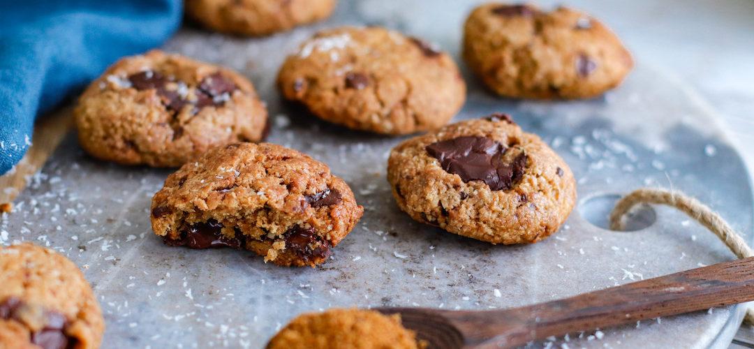 recette healthy-cookie-biscuit-chocolat-noix de coco