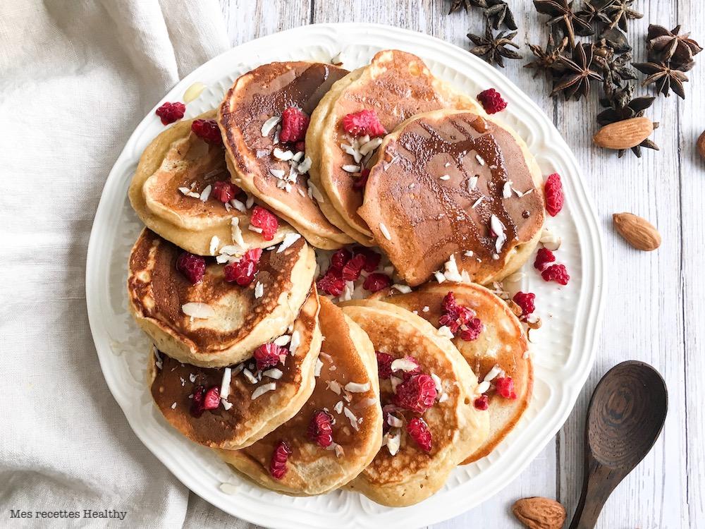 recette-pancake moelleux-sans beurre-healthy