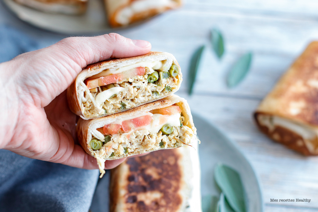 recette healthy-wrap-sandwich-tomate-poulet-legume