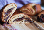 recette healthy-pain au chocolat-beurre de cacahuète-viennoiserie-boulangerie-brioche-croissant