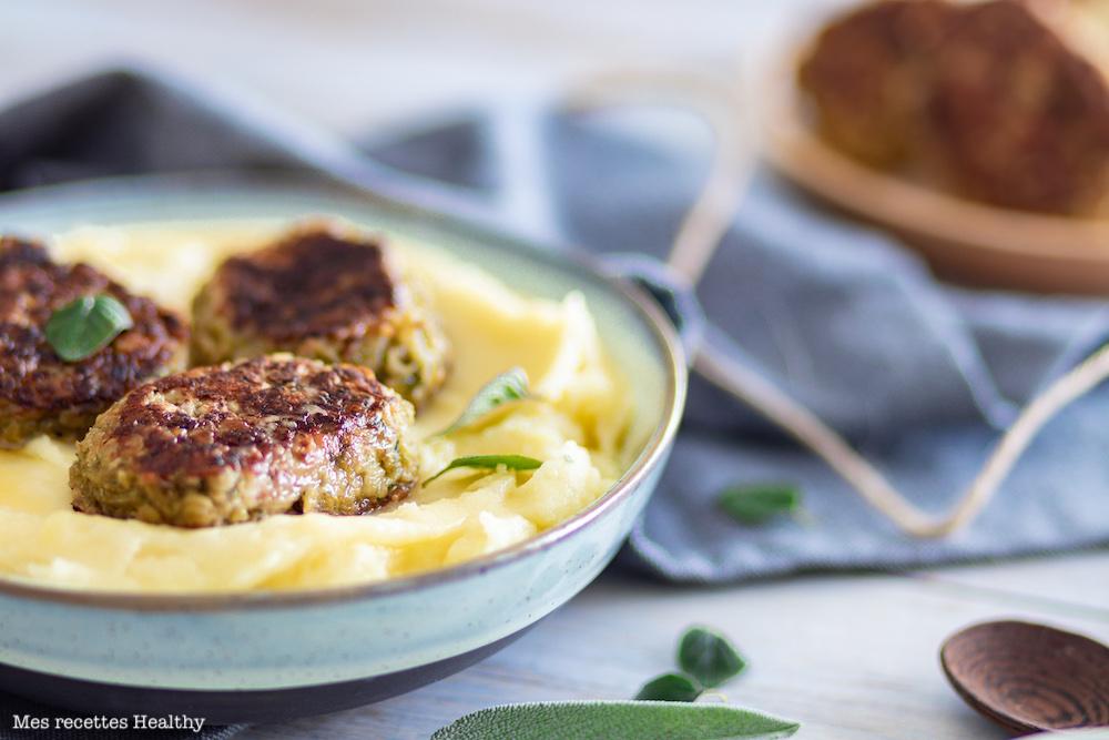 croquette de courgette-vegetarien-fromage-puree-pomme de terre-legume-recette healthy