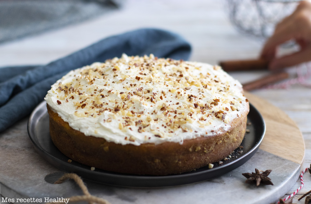 recette healthy-gâteau moelleux-courge-potimarron-butternut-courge-banane