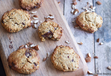 recette healthy-cookie à l'avoine-chocolat-noisette-biscuit
