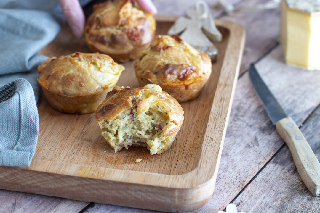 recette healthy-muffin sale-muffin tome-bacon-savoie