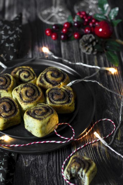 recette health-brioche roulée salée-tapenade-pesto-apero-aperitif