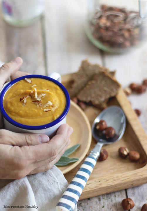 soupe courge-potiron-citrouille-hiver-fait maison-recette healthy