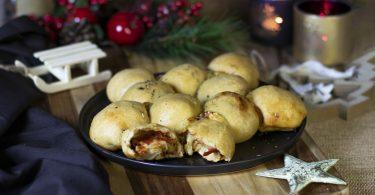 recette healthy-boule de pizza-fromage-tomate-noel-fete