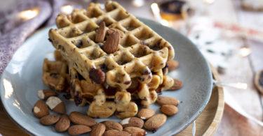 recette Healthy-gaufre maison-gaufre moelleuse-gaufre facile-sans lait-sans beurre-sans lactose