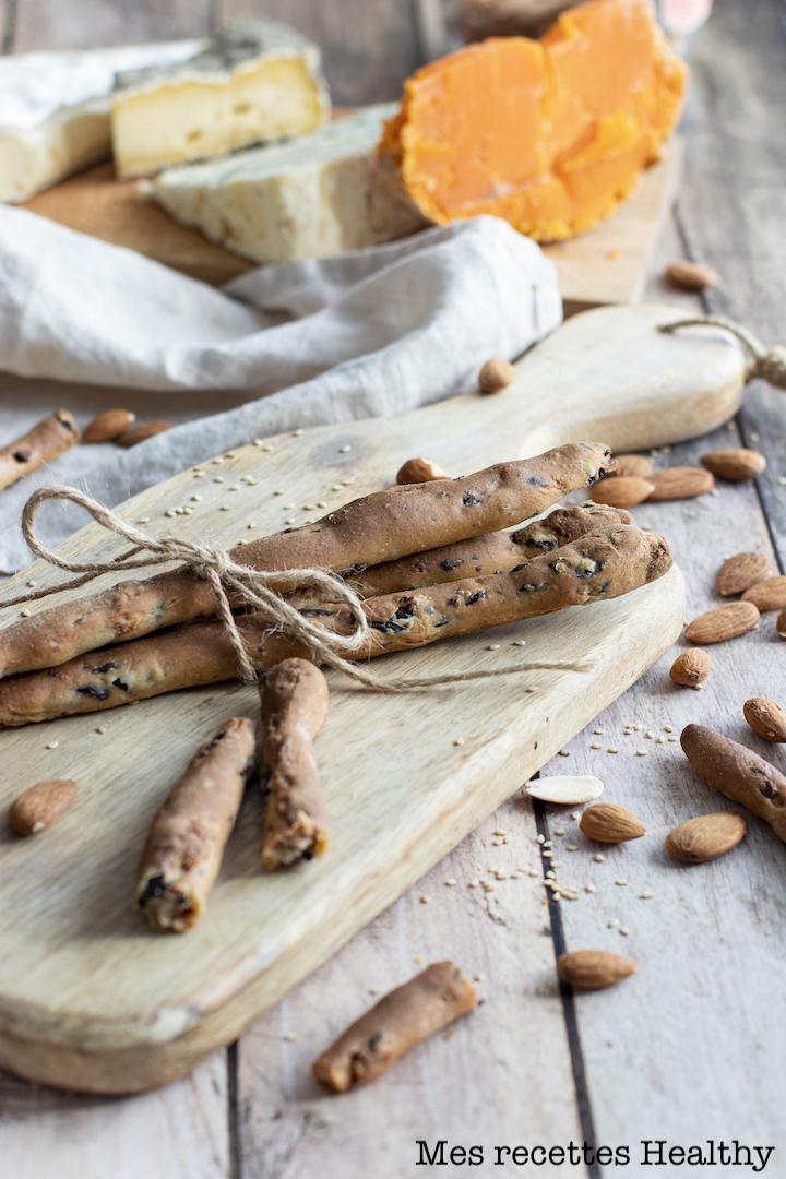 recette Healthy-gressin maison-apéro-aperitif--charcuterie-fromage