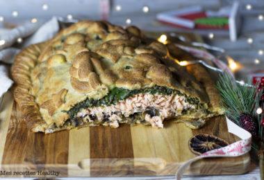 recette healthy-coulibiac-pate russe-riz-epinard-saumon-champignon-poisson