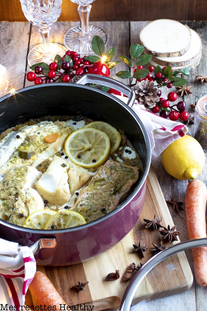 recette healthy-poisson-saumon-dorade-cabillaud-legume-noel-pot au feu