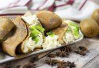 recette healthy-crepe au beurre de cacahuète-chandeleur-cacao-chocolat-chantilly-kiwi