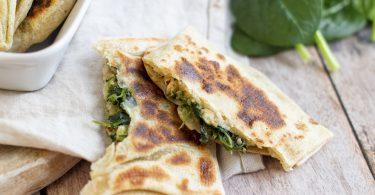 recette healthy-crepe turque-Gözleme-fromage-chevre-saumon-truite-epinard