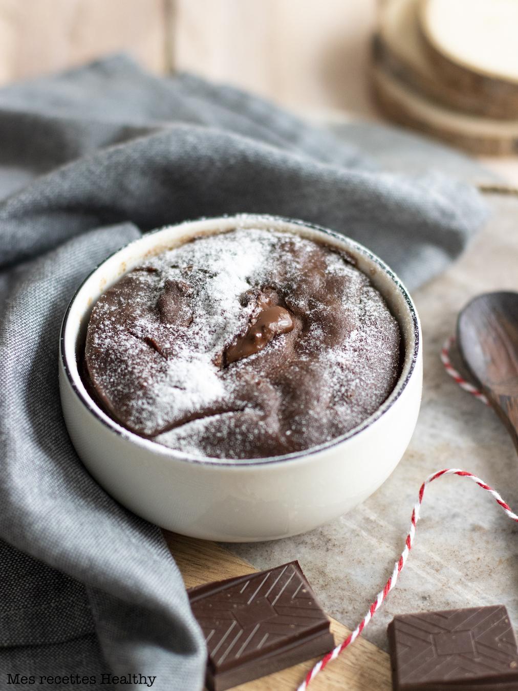 recette healthy-gateau au chocolat-gateau vapeur-fondant au chocolat-gateau chocolat coulant-beurre de cacahuete-peanut butter